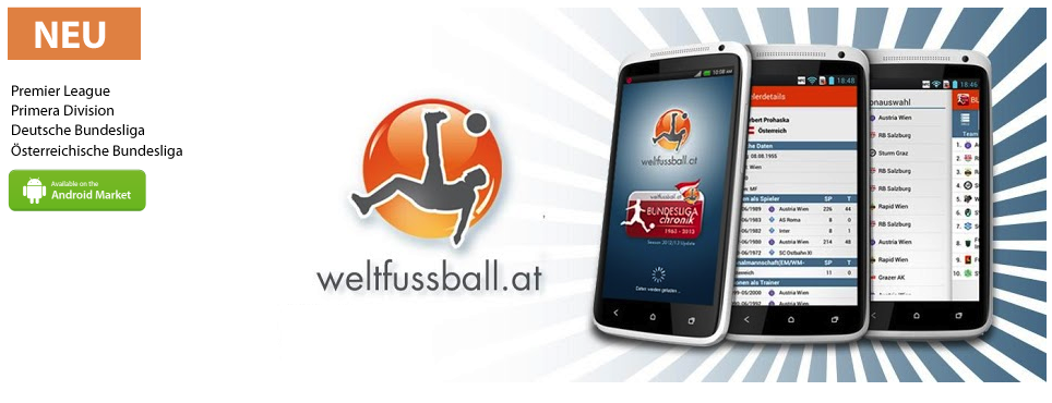 Weltfussball Bundesliga Chroniken – ANDROID